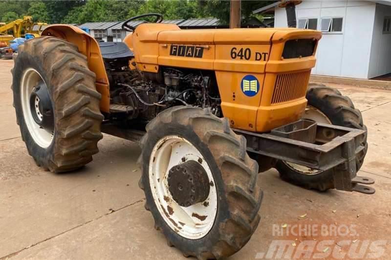Fiat 640 4x4 Tractor