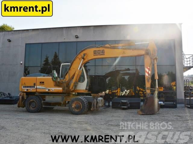 Liebherr A 904 900 314 JCB JS 145 175 VOLVO EW 140 160 180