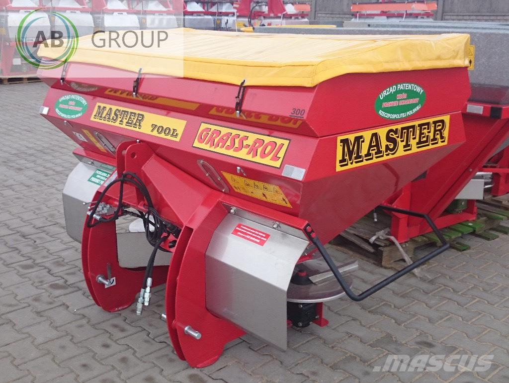 Grass-Rol Fertilizer spreader/Düngerstreue/Abonadora 700l