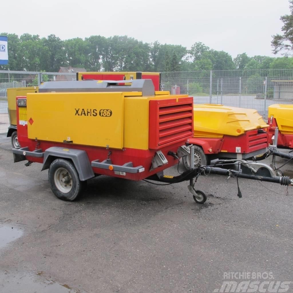 Atlas Copco XAHS 186 Luftaufbereitung 12 Bar Wasserabscheider
