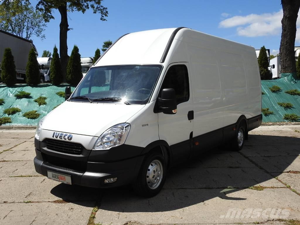used iveco daily 35s13 furgon winda klima panel vans year 2012 price 16 401 for sale. Black Bedroom Furniture Sets. Home Design Ideas