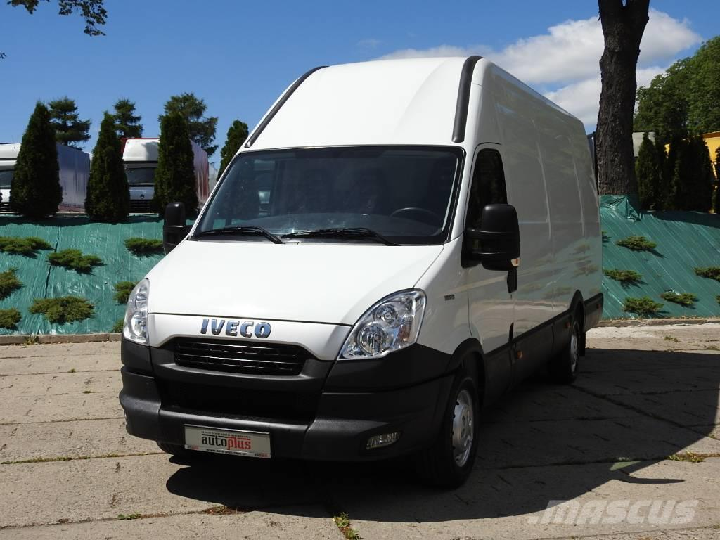 used iveco daily 35s13 furgon winda klima panel vans year 2012 price 16 059 for sale mascus usa. Black Bedroom Furniture Sets. Home Design Ideas