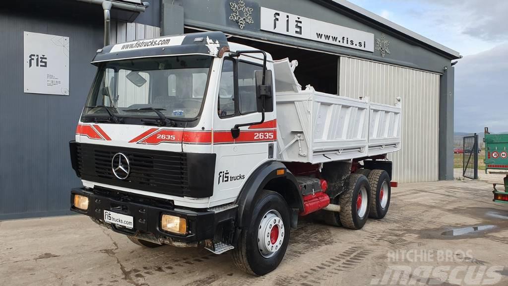 Mercedes-Benz SK 2635 K 6X4 meiller tipper
