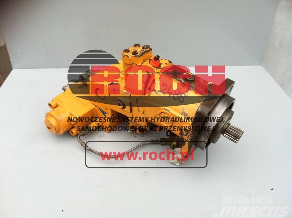 Hydromatik Case 988 Silnik Motor A6VM107