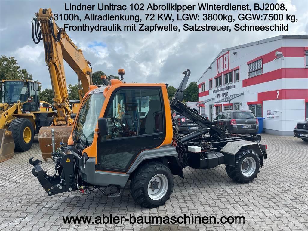 Lindner Unitrac 102 Abrollkipper Winterdienst