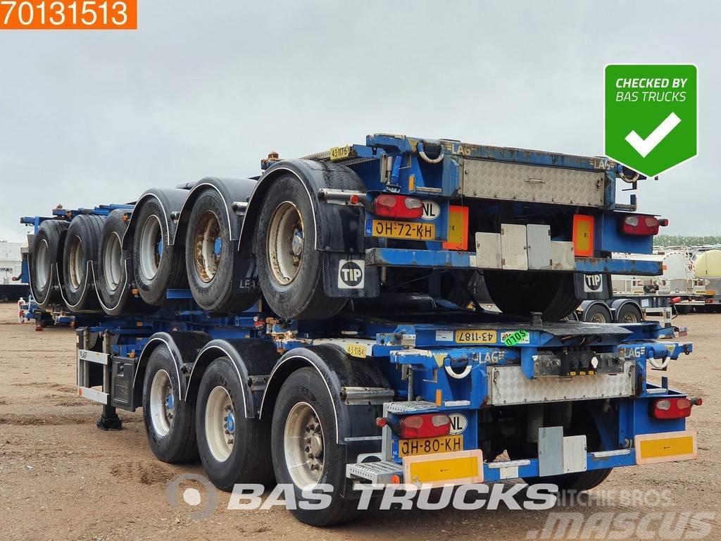 LAG Price per Unit! 3 axles ADR 1x 20 ft 1x30 ft