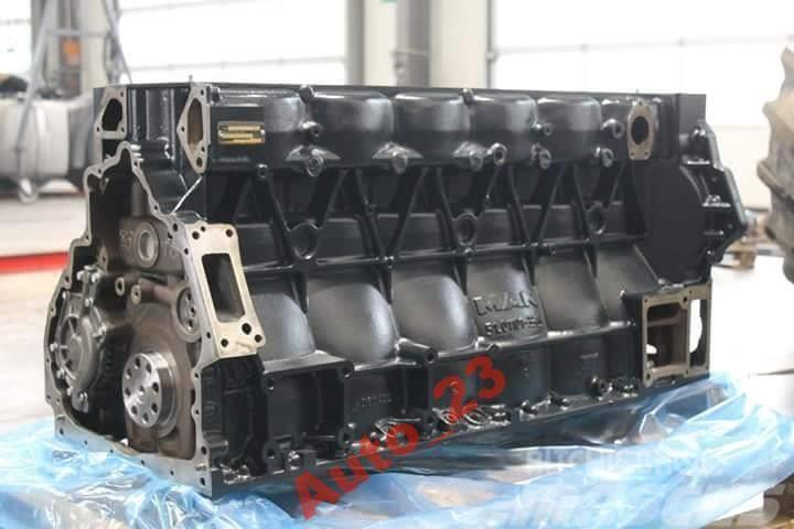 [Other] Crankcase MAN D2066 Blok Silnika D20 Crankcase TGX