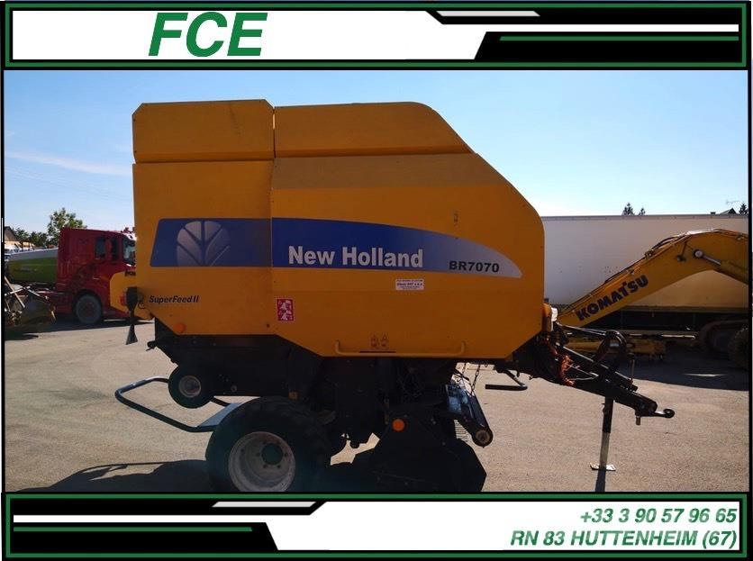New Holland BR 7070 *ACCIDENTE*DAMAGED*UNFALL*