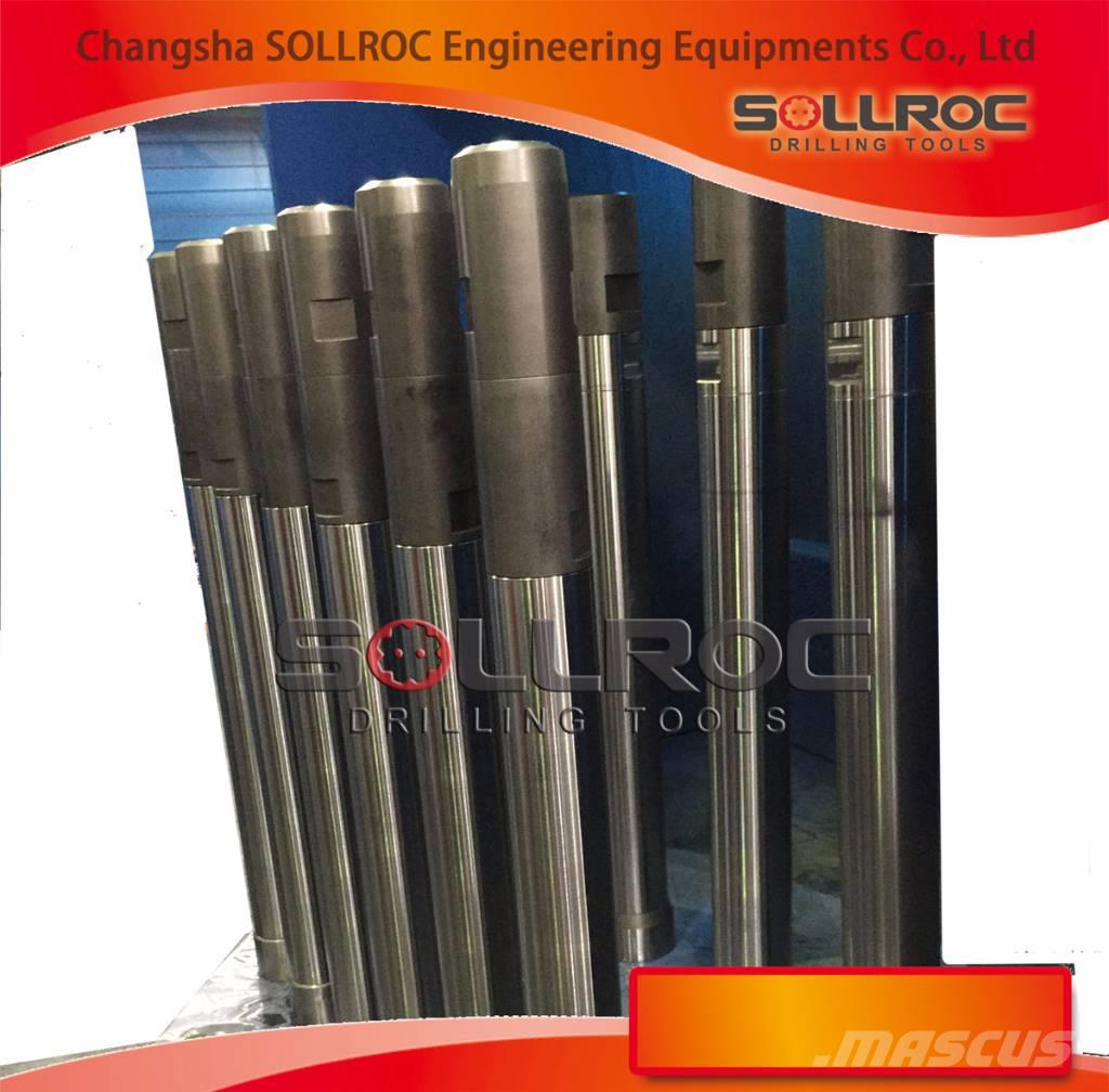 Sollroc RC hammers, RC bits and RC drill pipes