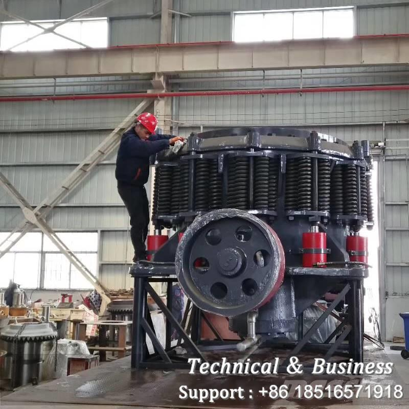White Lai WLC1500 5FT Spring Cone Crusher