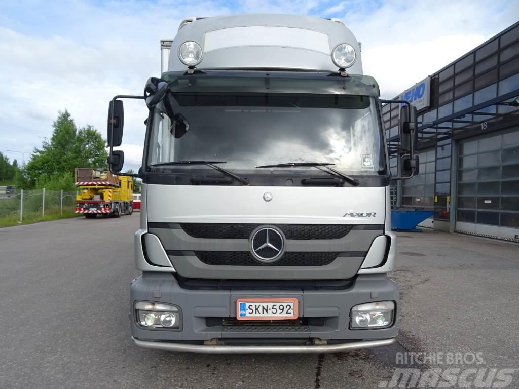 Mercedes benz axor 1829lnr 57 frc 2012 r espoo for 57 mercedes benz