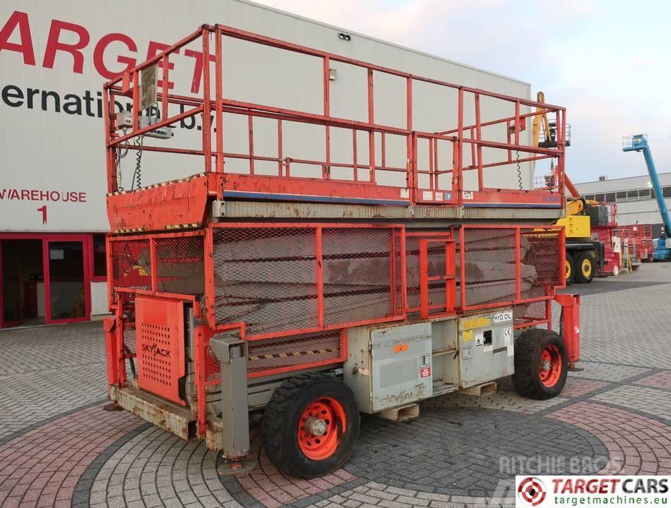 SkyJack SJ9250 Diesel 4x4 Scissor Work Lift 1720cm