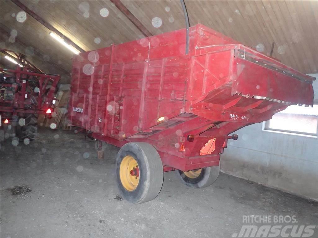 Baastrup 7T m/bremser med gødningsstuds
