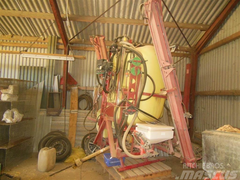 Hardi 1000 l 12 meter Med A-ramme & lovligt udstyr