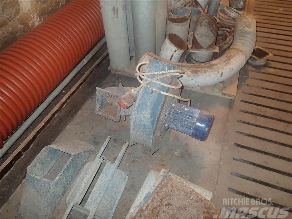 Jema 20 T Støvsuger til elevator