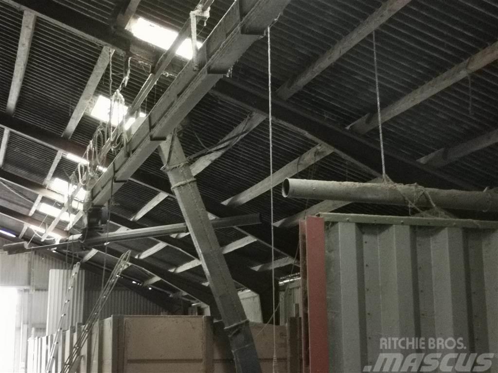 Jema Transportbånd T19 15,5 meter med 2 stk. svingbare