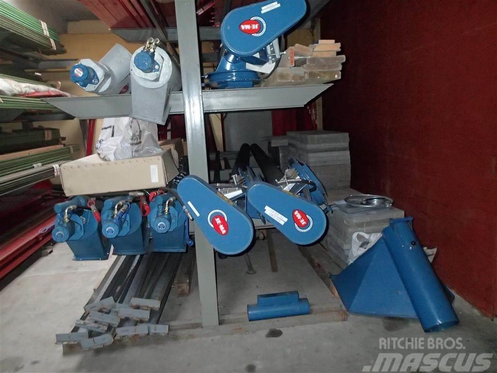 Jema T 37 fordelersnegl 4 meter uden kontravægt