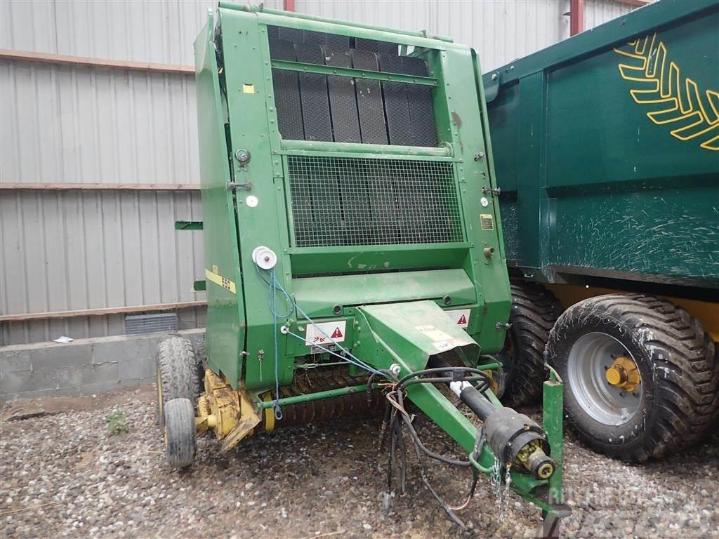 John Deere 550 Garnbinding
