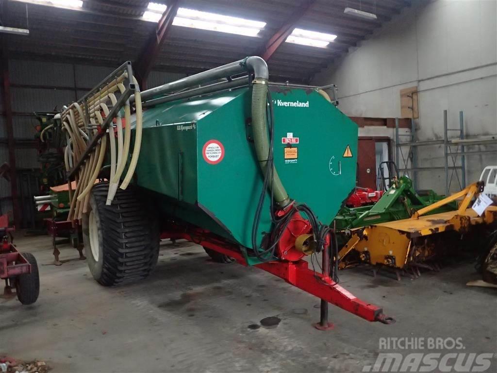Kverneland 12 ton med ekstra store hjul