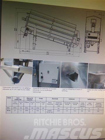 Kongskilde KDC 8000 Overgemt, lagersalg, 2017, Övriga lantbruksmaskiner