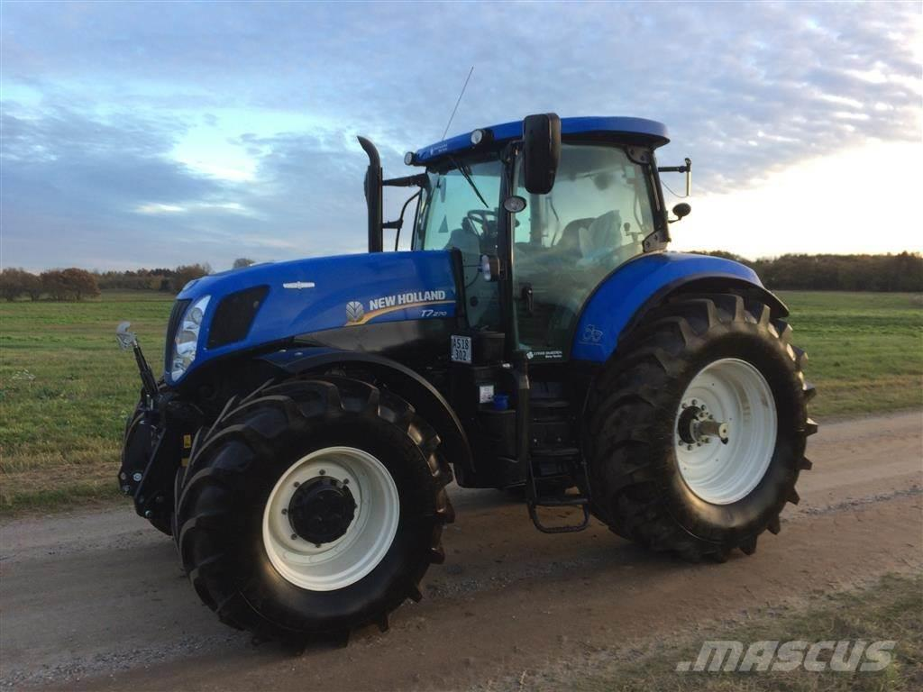 New Holland T7.270 KUN 18 timer