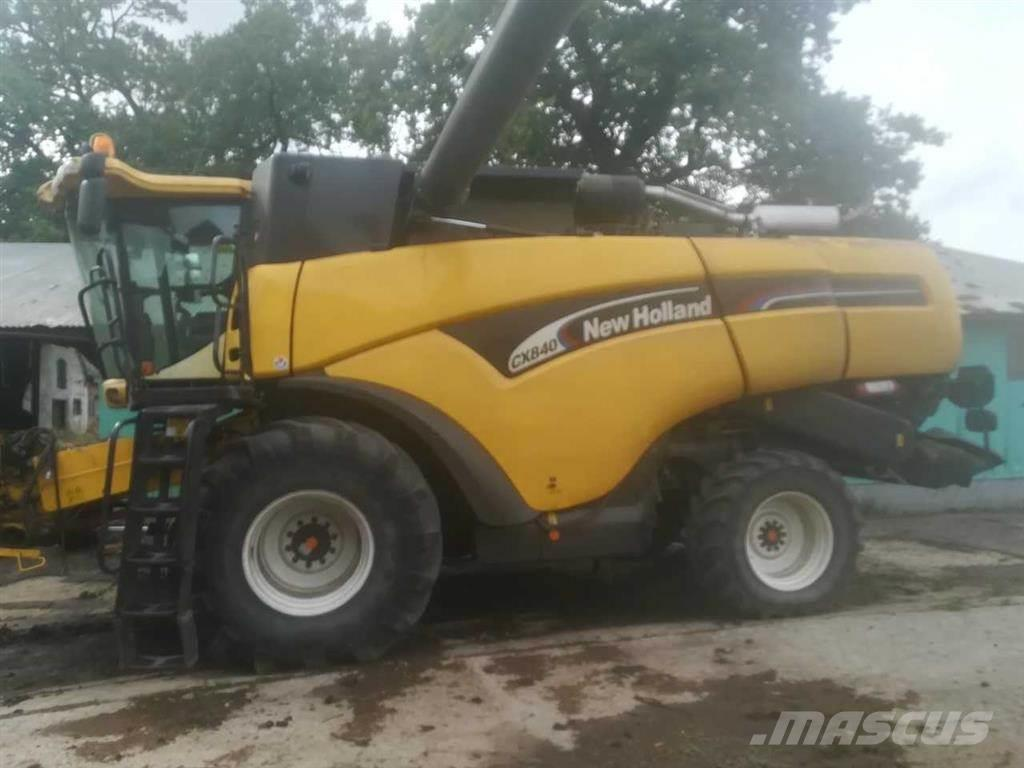 New Holland CX 840 24', FSH soldkasse