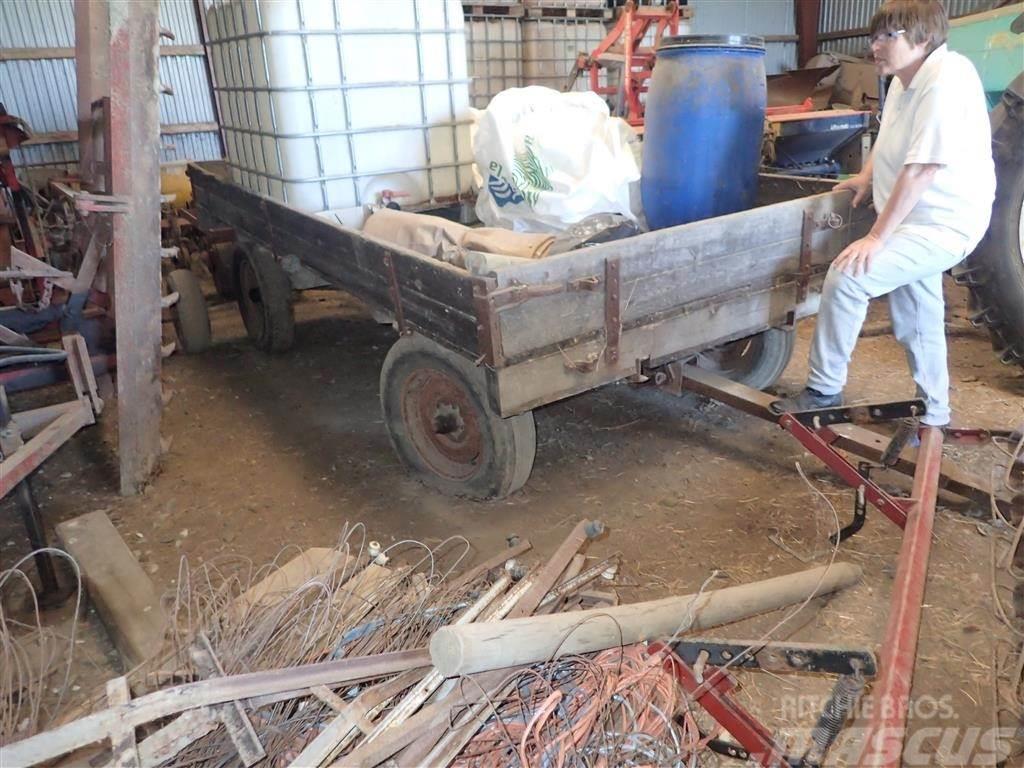 [Other] 4 hjulet landbrugsvogn, uden tip
