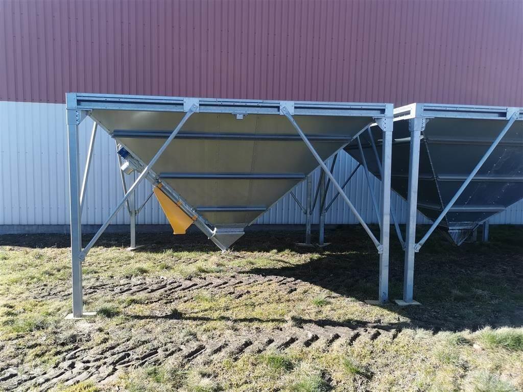 [Other] Orla Hansen siloer ca. 19,8 Tons 3,55 x 3,55