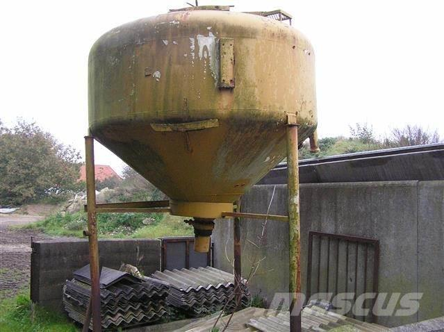 [Other] Stålsilo, 3 ton, 4 stk. i alt