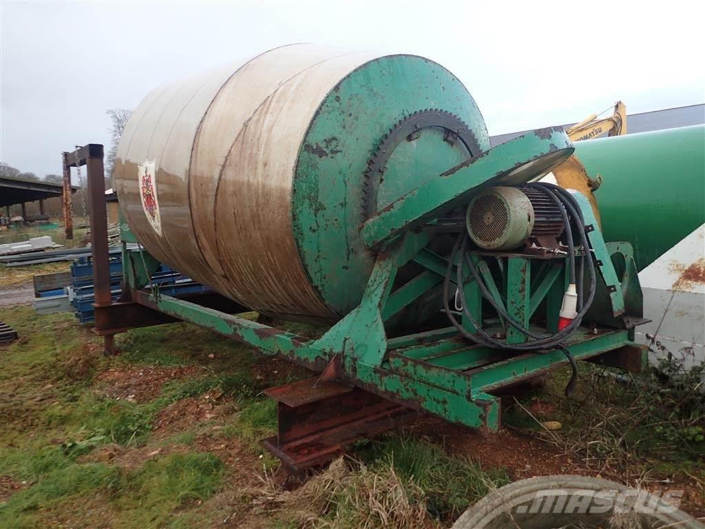 [Other] Gødningsblander/korn 8m3 rustfri stål