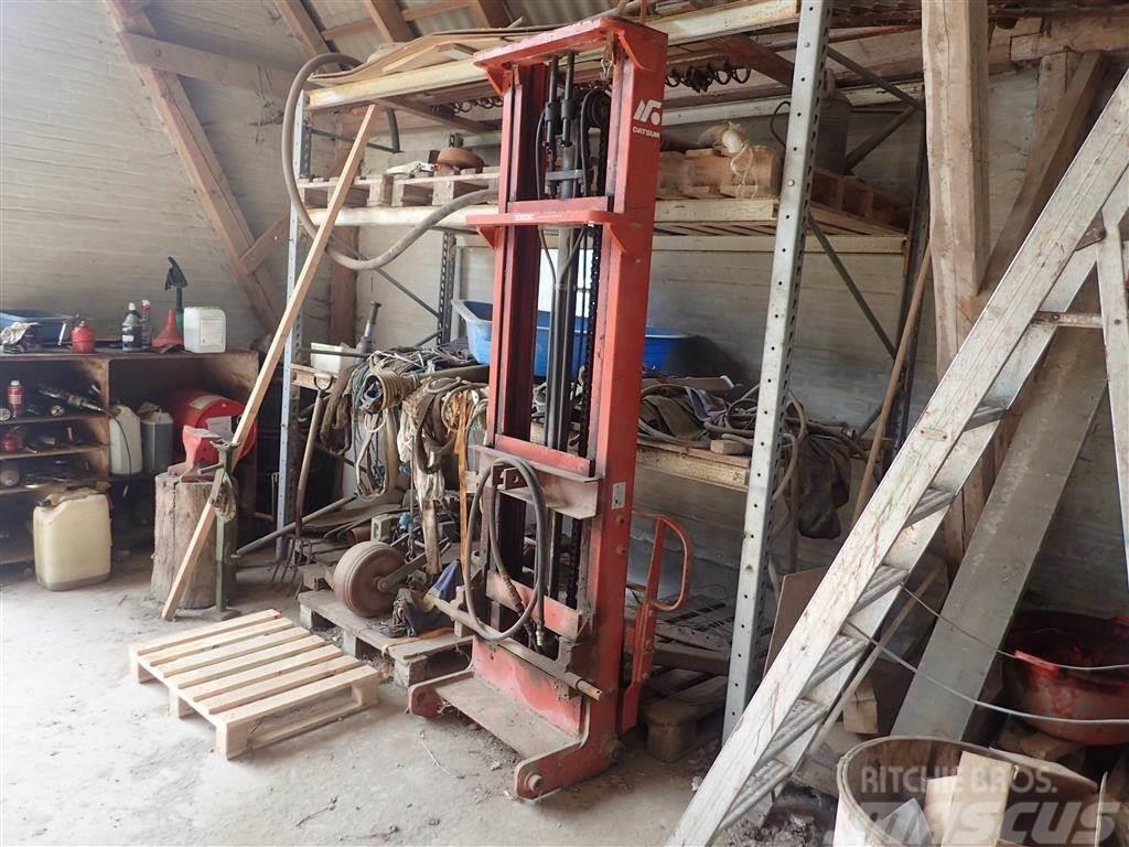 [Other] Trucktårn til traktor, ca. 4 m