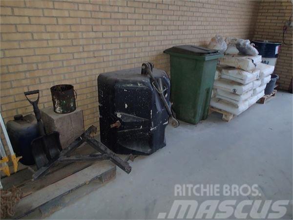 [Other] Frontvægt 800 kg. beton