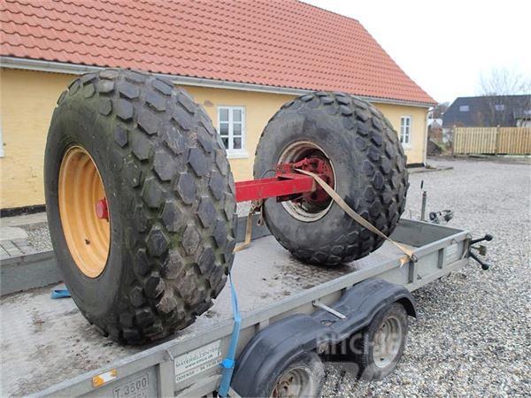 [Other] Bremseaksel med hjul