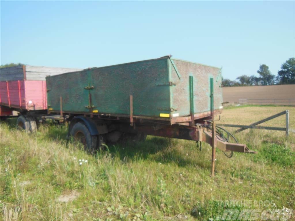 Scania 10 ton med bremser