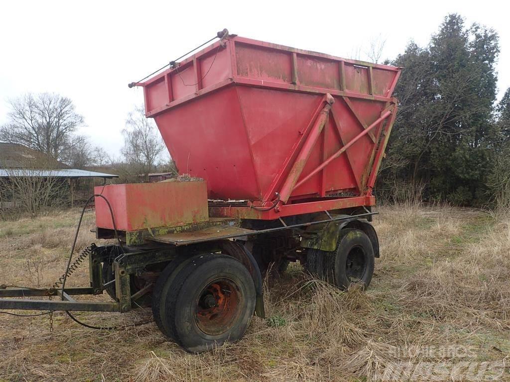 Spragelse Tipvogn 10 ton, meget kraftig vogn