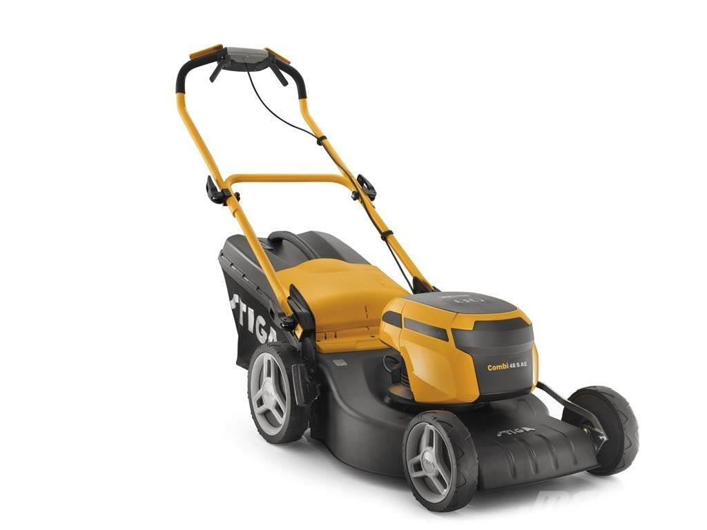 used stiga combi 48 s ae 80 volt walk behind mowers year 2018 price 765 for sale mascus usa. Black Bedroom Furniture Sets. Home Design Ideas