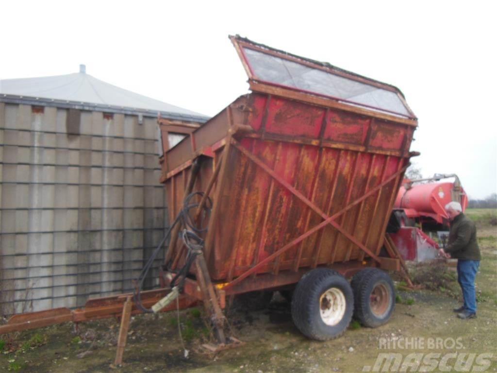 Tim Med overbygning til flis, 8 ton