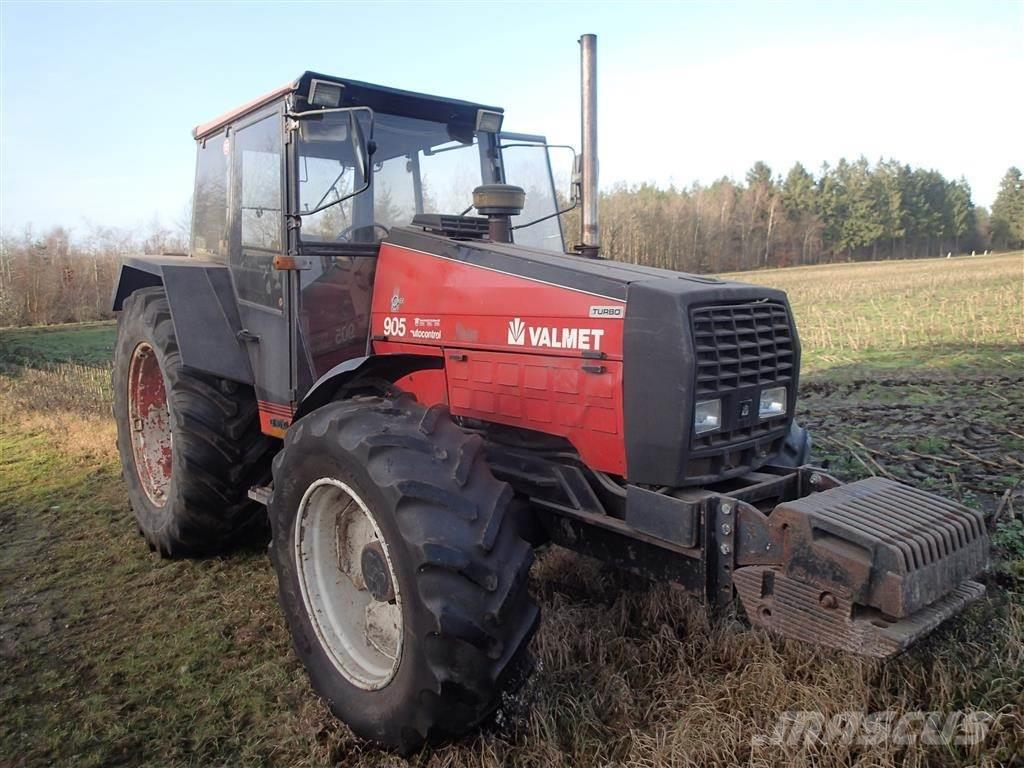 Valmet 905 GLOX Turbo Med Hitchkrog