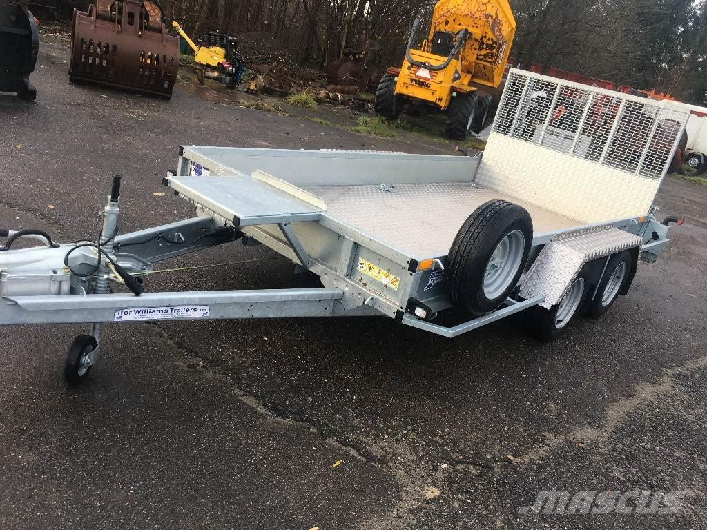 Ifor Williams GP 126 incl. Alu bund og 4 stk. surringsøjer