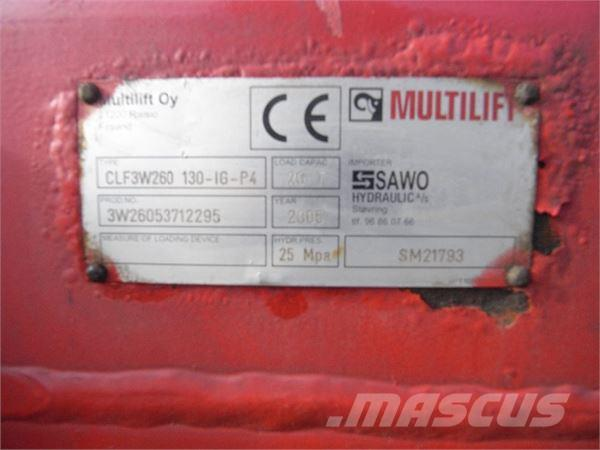 Multilift 3-VEJS, 2005, Lastväxlare
