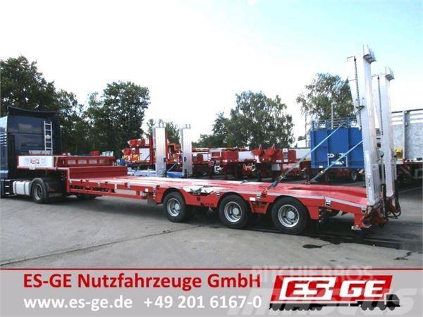 ES-GE 3-Achs-Satteltieflader - Radmulden - Leichtbau - t