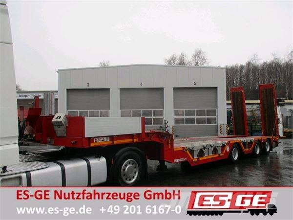 ES-GE 3-Achs-Satteltieflader - Radmulden - elektro-hydr.