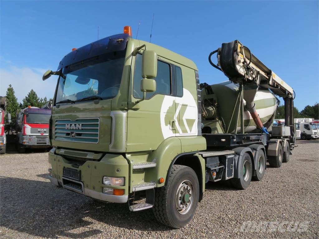 MAN TGA 26.440 6x6 Stetter 12 m3 + Theam 16,5 m
