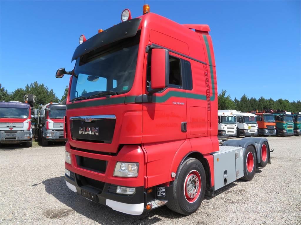 MAN TGX 28 480 6x2 XXL Hydr  Euro 5 - Tractor Units, Year of