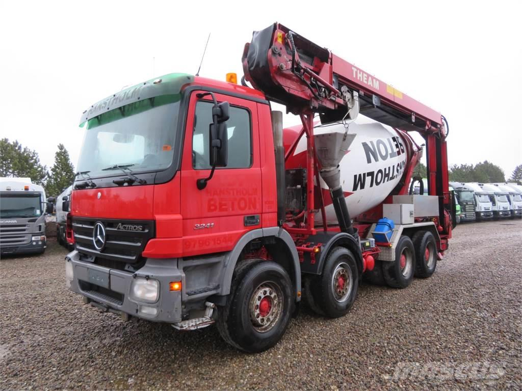 Mercedes-Benz Actros 3241 8x4 9 m3 Theam 15 m.