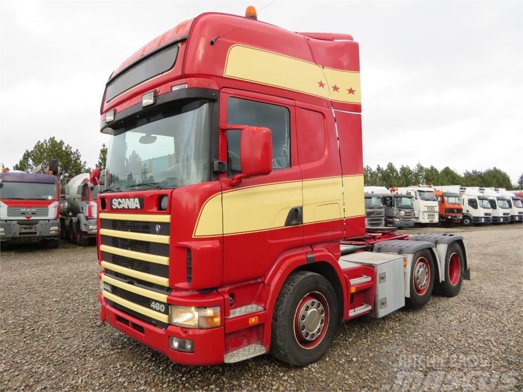 Scania 144-460 6x2*4 Topline Hydr.