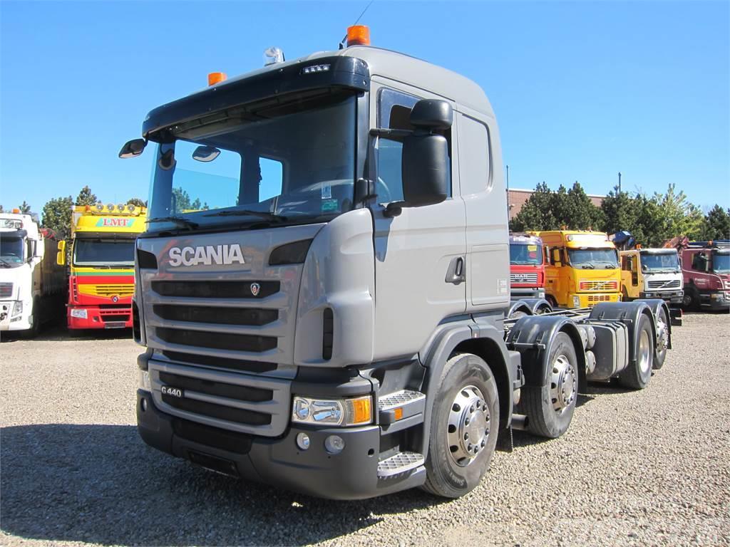 Scania G440 8x2*6 ADR Euro 5