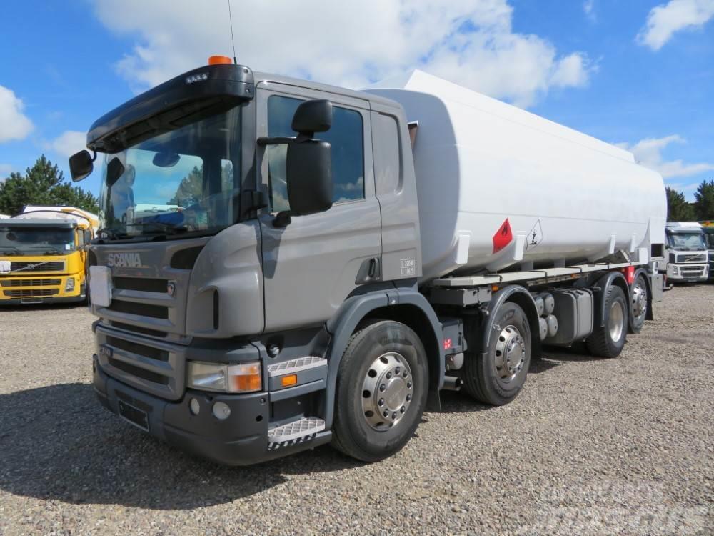Scania P310 8x2*6 24.500 l. ADR Diesel-Benzin