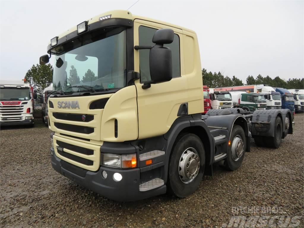 Scania P400 8x2*6 Euro 5