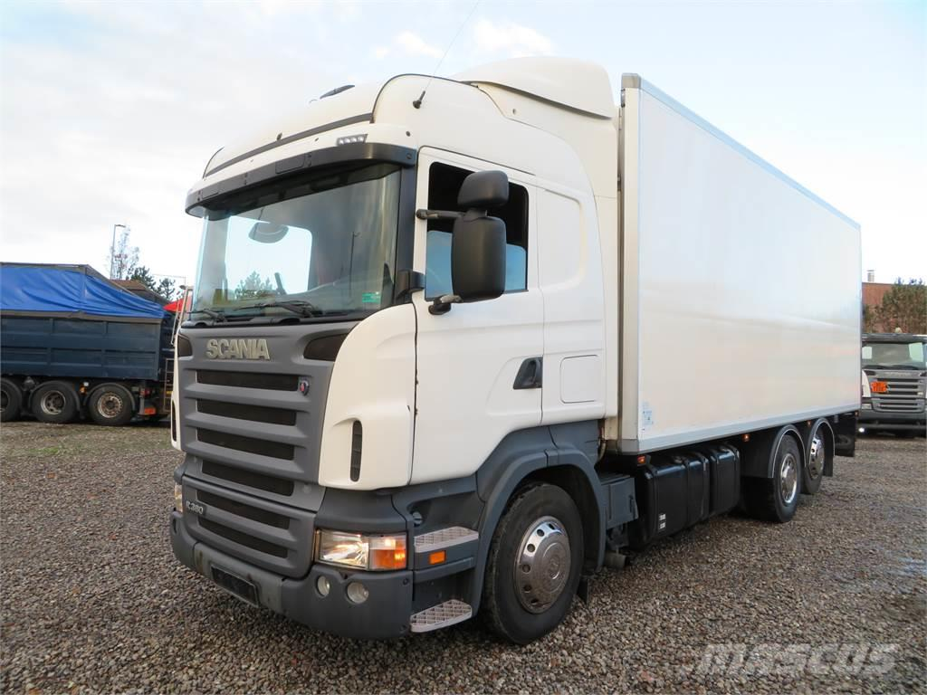 Scania R340 6x2 Euro 4 Thermo King Spectrum TS